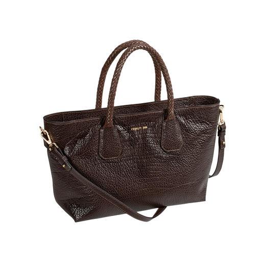 Cerruti 1881 Kalbledertasche Schlägt unzählige It-Bags: die Designer-Tasche für (fast) jeden Look, jede Gelegenheit. Modisch und klassisch zugleich.