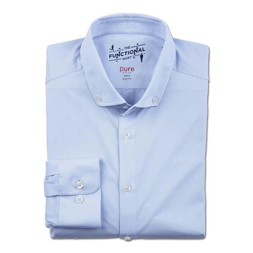 Hatico Funktions-Businesshemd Korrekter Business-Look – mit allen Vorzügen eines Running-Shirts. Bi-elastisch. Schnelltrocknend. Atmungsaktiv.