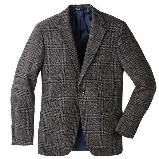 German Tweed® Glencheck-Sakko Ihr wohl elegantestes Tweedsakko ist in Deutschland gewebt. Klassisches Glencheck-Karo. Leichter, weicher Stoff.