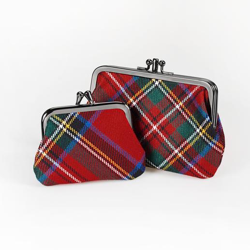 Lochcarron Bügel-Börse Die außergewöhnlichen Münzbörsen von Lochcarron of Scotland zu einem überraschend günstigen Preis.