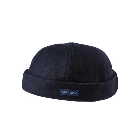 Saint James Docker-Mütze Im Trend: die Docker-Mütze. Hier das Original von Saint James, Spezialist für maritime Looks.