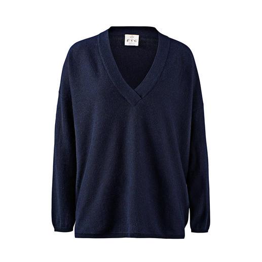 FTC SeaCell®Cashmere V-Pullover Der luxuriöse unter den modischen Basic-Pullovern: aus weichem, hautpflegendem SeaCell®Cashmere.
