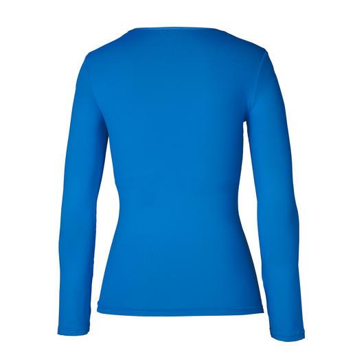 Langarm-Shirt, Blau