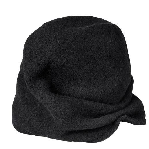 Das Multitalent vom Spezialisten: 1 Mütze – 2 Looks. Lässiger Beanie oder trendiger Turban.