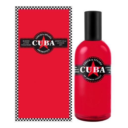 Czech & Speake Cuba Eau de Cologne, 100 ml Cuba in a bottle: der seltene Duft mit karibischem Flair. Für Damen und Herren.