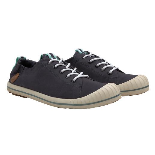 Erkennungszeichen: modisch schlichter Look, unverändert hoher Komfort. Aigle hat den legendären Canvas-Sneaker noch weiter verbessert. Modisch schlichter Look, unverändert hoher Komfort.