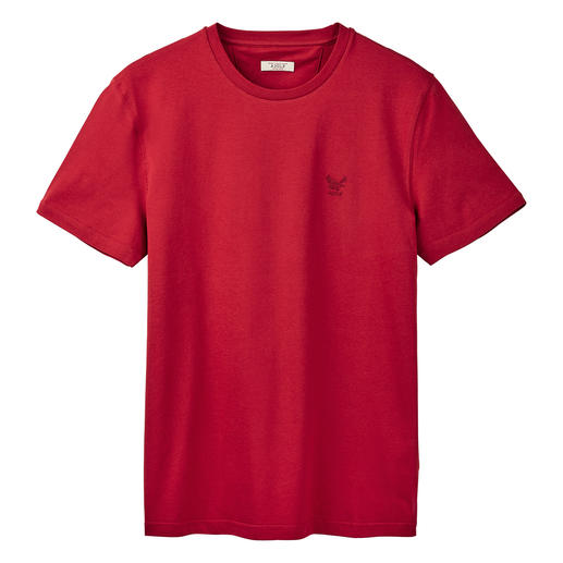 Aigle Baumwoll-Funktionsshirt Dry-fast®. UV-CONTROL®. Und doch 100 % weiche, hautsympathische Baumwolle.