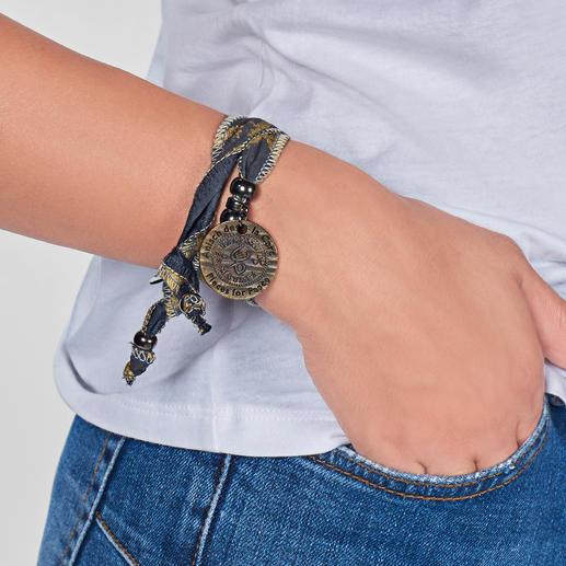 """Hakuna-Matata-Armband """"Alles bestens"""": das besondere Mode-Accessoire aus südafrikanischem Sonnenstoff."""
