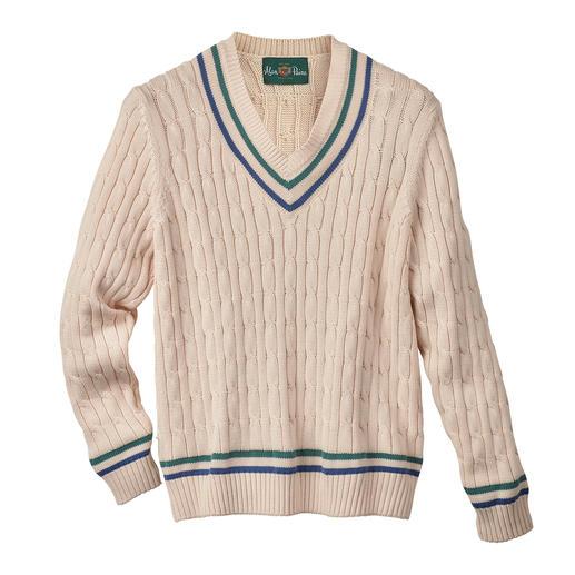 Alan Paine Herren-Cricket-Pullover Die Renaissance eines Mode-Klassikers – zum erfreulich günstigen Preis.