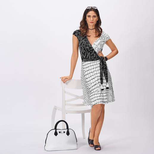 cavalli CLASS Koffer-Kleid Das unkomplizierte Designerkleid für den Alltag und die Reise.