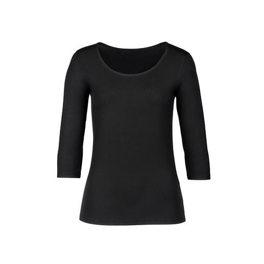 Die 24-Stunden-Basics made in Austria: Shirt, Rock, Hose und Cardigan vom Basic-Spezialisten Moya. Hochwertig, bequem und pflegeleicht. Perfekt kombinierbar. Erstaunlich guter Preis.