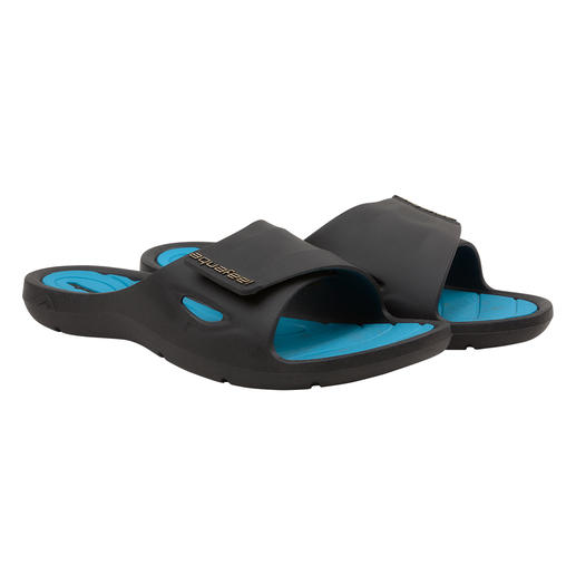 Fashy AquaFeel Damen-Badeschuhe Die Badeschuhe für Leistungssportler – und für Sie. Rutschhemmend auf nassen Untergründen. Antibakteriell gegen Fußpilz.