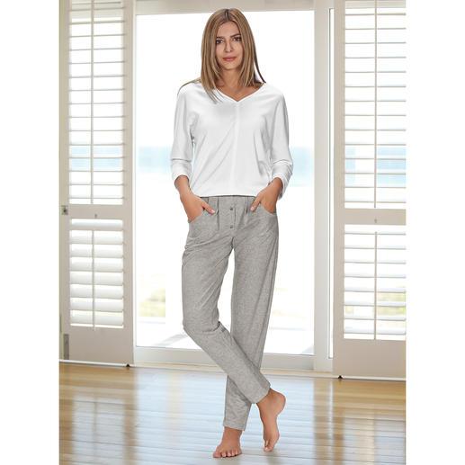 HFor Sweatshirt oder Sweat-Pants Herrlich bequem. Trendgerecht straßentauglich. Der Loungewear-Anzug vom belgischen Newcomer-Label HFor.