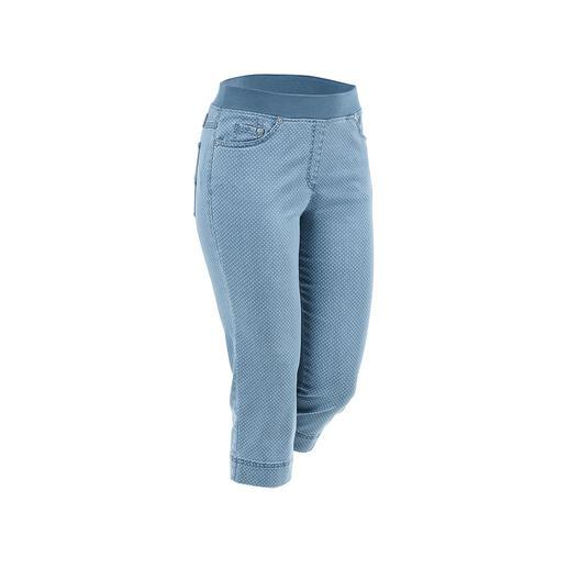 Raphaela by Brax Capri-Komfort-Jeggings Bequeme Jeggings, die auch zu kurzen Oberteilen tragbar sind. Optisch nah an konfektionierten Hosen.