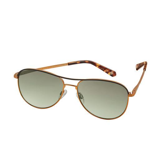 Ted Baker Piloten-Sonnenbrille Die Sonnenbrille vom Londoner Trend-Label Ted Baker – hierzulande noch schwer zu finden.
