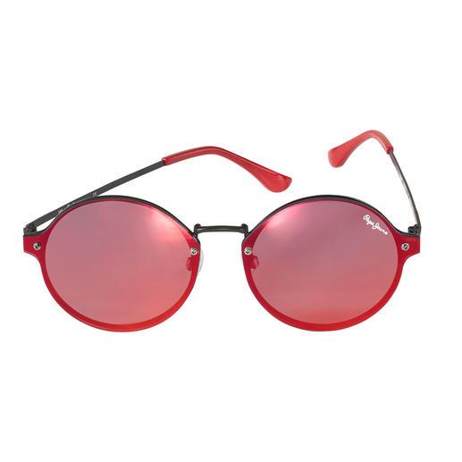 Flat, verspiegelt und rund – trendiger kann eine Sonnenbrille kaum sein. Von Pepe Jeans London. Flat, verspiegelt und rund – trendiger kann eine Sonnenbrille kaum sein. Von Pepe Jeans London.