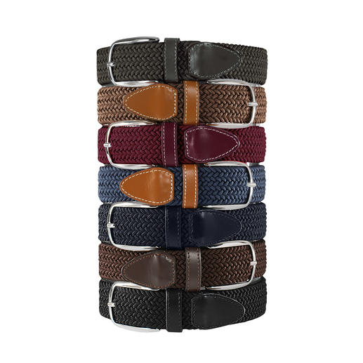 Belts Elastischer Gürtel, Herren Genial bequemer Gürtel: stufenlos verstellbar. Und elastisch.