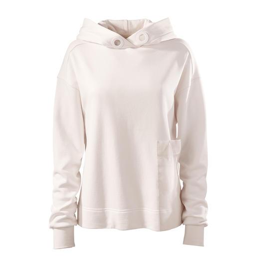 Strenesse Kapuzen-Sweater Edle Sports-Couture statt allzu lässiger Streetstyle: der Kapuzen-Sweater von Strenesse.