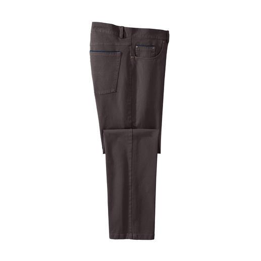 Five-Pocket-Hose Winter-Cotton Wärmend ohne Futter. Windabweisend ohne Chemie.