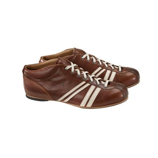 """Zeha Retro-Fußball-Sneaker Im Original-Design der 50er-Jahre: der DDR-Fußball-Schuh """"Liga"""" von Zeha."""