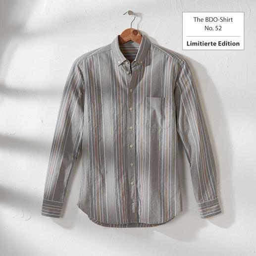 The BDO-Shirt, Limited Edition No. 52 - Entdecken Sie einen guten alten Freund. Und vergessen Sie, dass ein Hemd gebügelt werden muss.