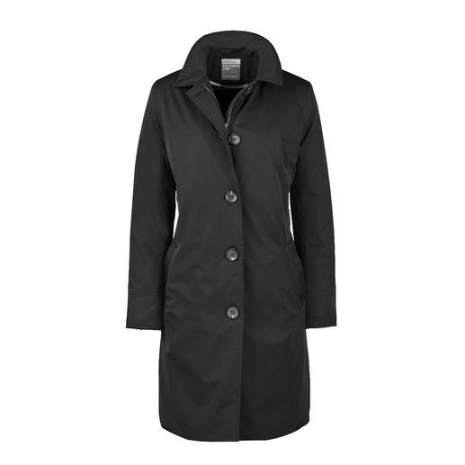 HappyRainyDays Travelcoat - Seltener Glücksgriff: Der stilvolle Travelcoat, der perfekt vor Regen schützt.