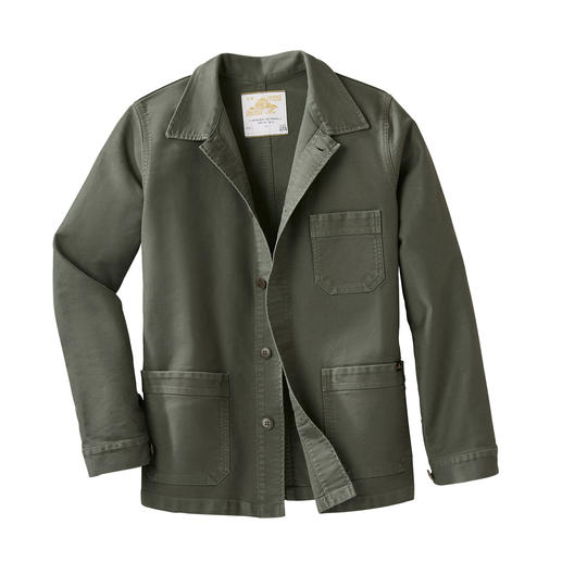 Mont Saint Michel Workwear-Jacket Die original Arbeiterjacke aus der Normandie von 1913. Heute zeitgemäßer Mode-Klassiker im aktuellen Workwear-Stil.