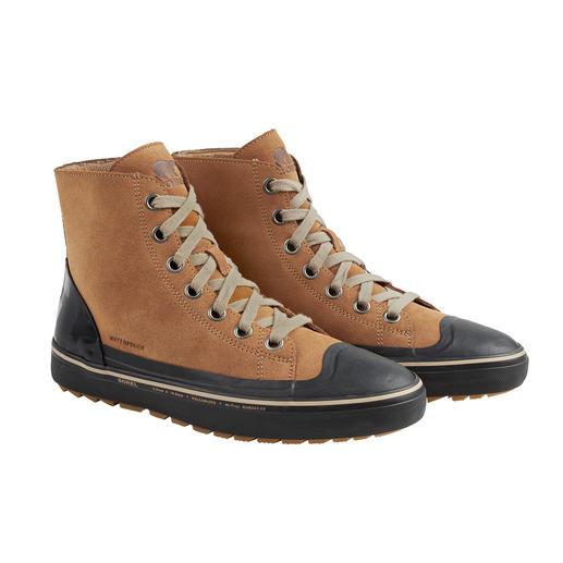Inspiriert vom klassischen Duck Boot: Sorel macht den Sneaker winterfest. Inspiriert vom klassischen Duck Boot: Sorel macht den Sneaker winterfest.