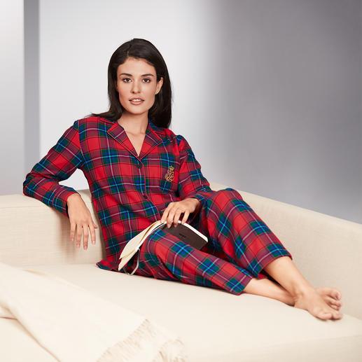 Ralph Lauren Preppy-Pyjama Kuschelweicher Flanell – im edlen Preppy -Style von Ralph Lauren.