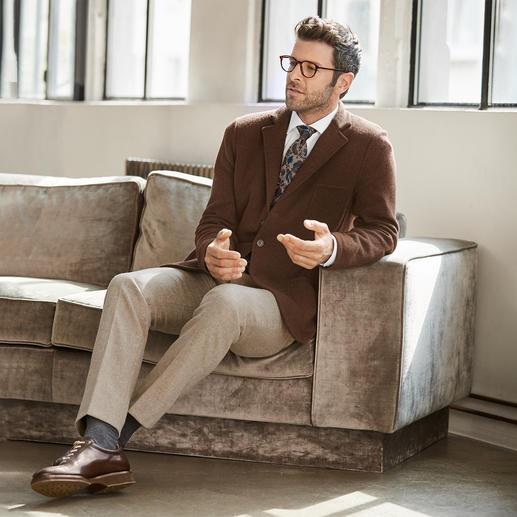 Ascot Blumen-Tweed-Krawatte