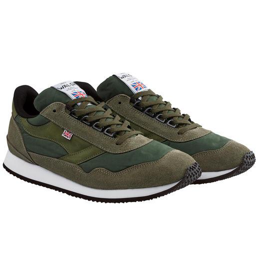 Norman Walsh Wax-Cotton- Sneaker Der englische Sneaker gegen englisches Wetter.
