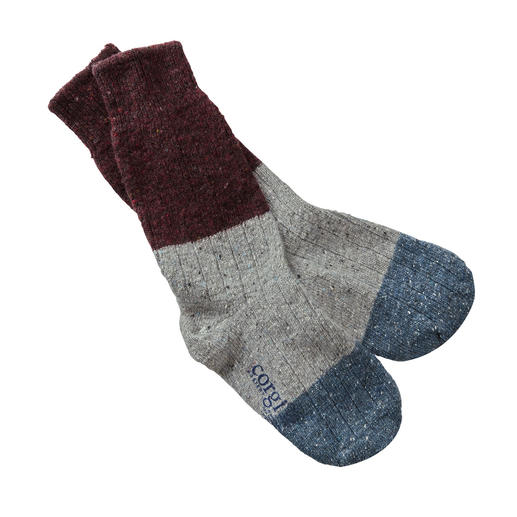 Donegal-Herren-Socken Robust und weich zugleich: die einzig echten Donegal Boots-Socks. Von Corgi/Wales.