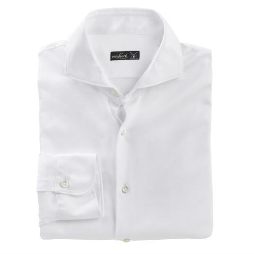 Korrekt wie ein luxuriöses Business-Hemd. Bequem wie ein lässiges T-Shirt. Korrekt wie ein luxuriöses Business-Hemd. Bequem wie ein lässiges T-Shirt.