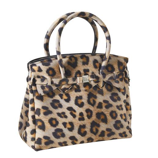 Save My Bag Ultraleicht-Tasche Klassische Form, innovatives Material, modisches Dessin: Diese ultraleichte Handtasche wiegt nur 380 Gramm.