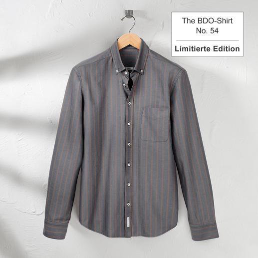 The BDO-shirt, Limited Edition No.54 - Entdecken Sie einen guten alten Freund. Und vergessen Sie, dass ein Hemd gebügelt werden muss.
