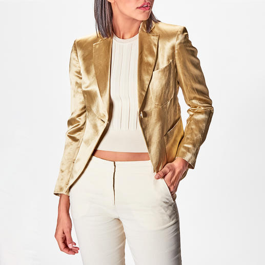 Gold-Blazer