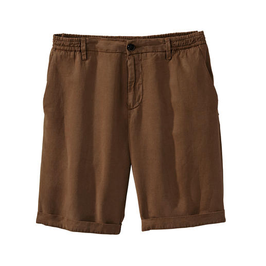 Myths Tencel-Leinen-Shorts Luftige Shorts aus edlem Tencel®-Leinen. Made in Italy. Von Myths.