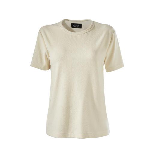 Howlin Feinfrottee-T-Shirt Das Edel-T-Shirt vom belgischen Strick-Spezialisten Howlin.