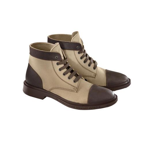 Pezzol  Workwear-Boot Treffen jetzt genau den Workwear-Trend: die Sicherheitsstiefel der Bohrinsel-Arbeiter.