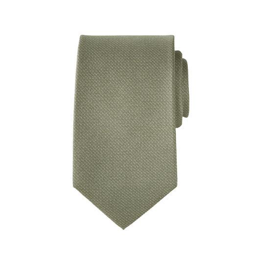 Pellens & Loick 3D-Print-Einstecktuch oder Krawatte Angesagter Strick-Look. Aber unvergleichlich fein und leicht – dank reiner Seide.