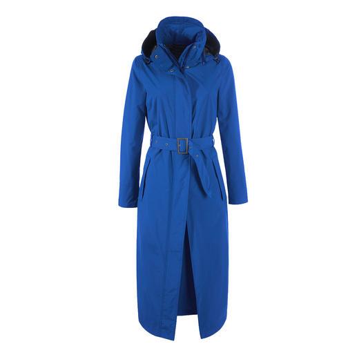 Seltene Kombination: Der stylishe Trend-Mantel, der perfekt vor Regen schützt. Wasserdicht, winddicht, atmungsaktiv: der stylishe Trend-Mantel, der perfekt vor Regen schützt.