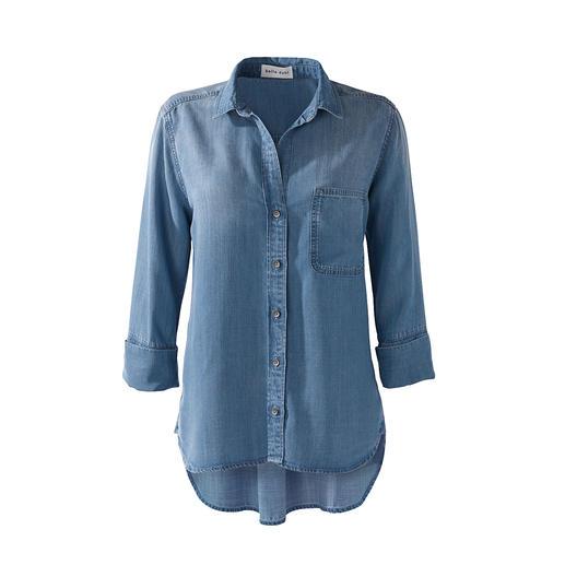 Die Lieblings-Jeansbluse der Stars und Celebrities: aus supersoftem Tencera™. Entwickelt und designt von Bella Dahl, Los Angeles.