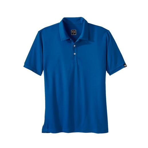 Reda Rewoolution Herren-Shorts oder -Poloshirt Merino-Wolle: Kratzfrei. Seidig. Und mit allen Vorteilen, die Sie von High-Performance- Stoffen erwarten.