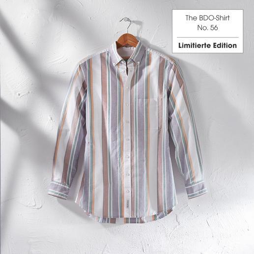 The BDO-Shirt, Limited Edition No. 56 Entdecken Sie einen guten alten Freund. Und vergessen Sie, dass ein Hemd gebügelt werden muss.