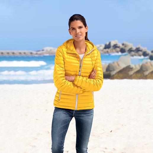 Sommerdaunen-Steppjacke für Damen Die Daunenjacke für den Sommer. Ultraleicht. Und doch sanft wärmend.