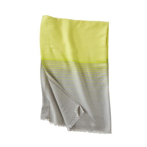 Abstract Bouclé-Strandtuch, Gelb Weich liegen ohne schwer zu schleppen.