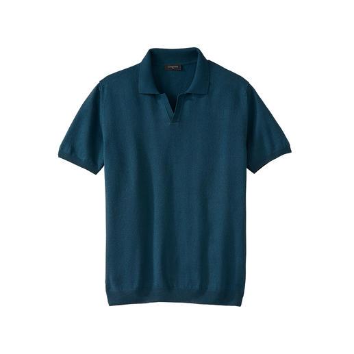 Junghans 1954 Paper-Cotton-Poloshirt 3-mal leichter als Baumwolle: Paper-Cotton, das pflanzliche Hightech-Garn.