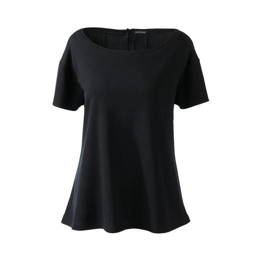 Alltagstaugliches Jersey-Ensemble oder edle Loungewear? Beides! Alltagstaugliches Jersey-Ensemble oder edle Loungewear? Beides! Mit passender Crossbody-Bag.