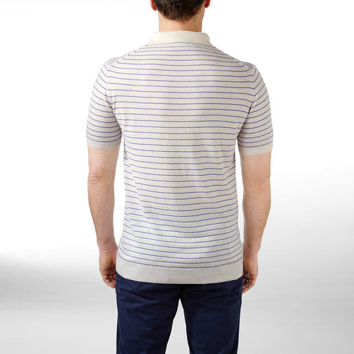 Tencel™-Leinen-Poloshirt