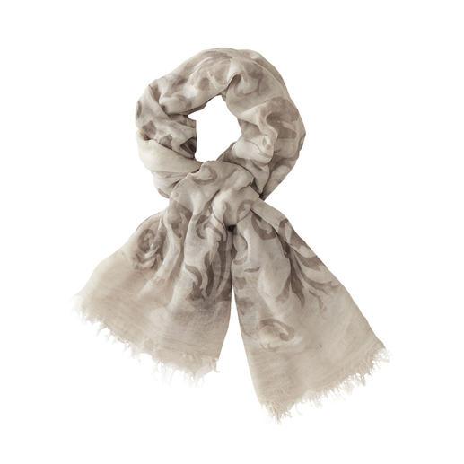 Der schmiegsam weiche, farbbrillante unter den modischen Vintage-Schals. Von Ancini. Aus feinstem MicroModal® - dadurch auch erfreulich knitterarm und strapazierfähig.